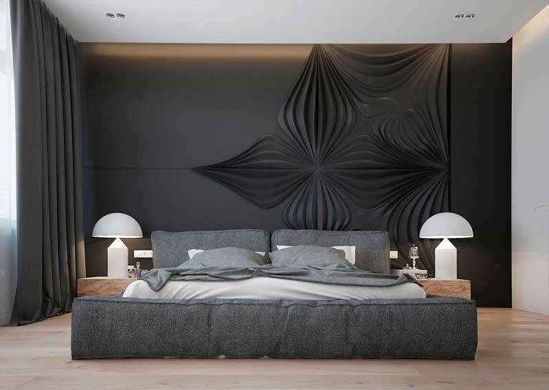 Schlafzimmer Wandgestaltung Beispiele Perfekt On Für Emejing Photos House 5