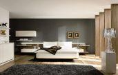Schlafzimmer Weiß Braun Modern