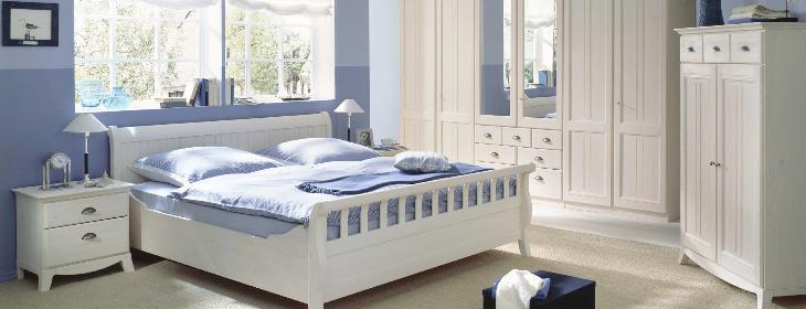 Schlafzimmer Weiß Landhausstil Einfach On In Wohnliche Im Online 7