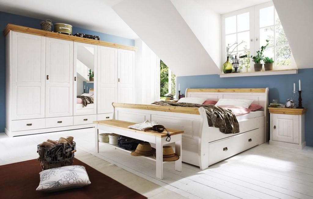Schlafzimmer Weiß Landhausstil Interessant On überall Modern Amocasio Com 5