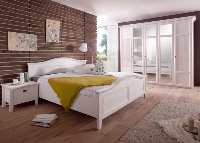 Schlafzimmer Weiß Landhausstil Unglaublich On Innerhalb Pinie Komplett Casa Weiss Möbilia De 9