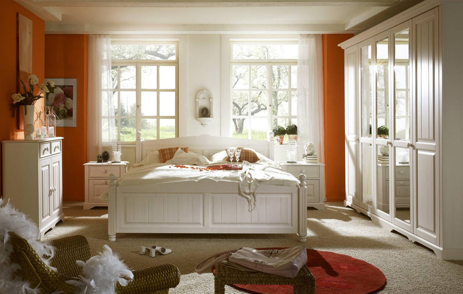 Schlafzimmer Weiß Landhausstil Wunderbar On Auf Wohndesign Landhaus Weiss Ideen 2