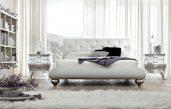 Schlafzimmer Weiss Silber