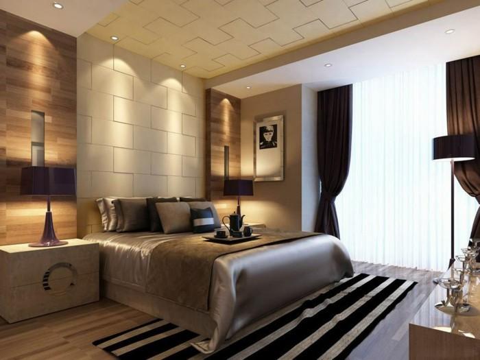 Schöne Wohnideen Schlafzimmer Stilvoll On Beabsichtigt 111 Für Ein Schickes Innendesign 2