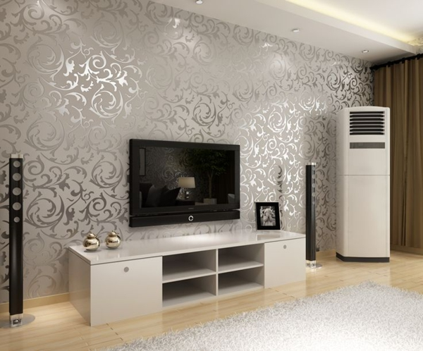 Tapeten Für Wohnzimmer Beispiele Frisch On In Bezug Auf Emejing Deko Tapete Contemporary House Design Ideas 2