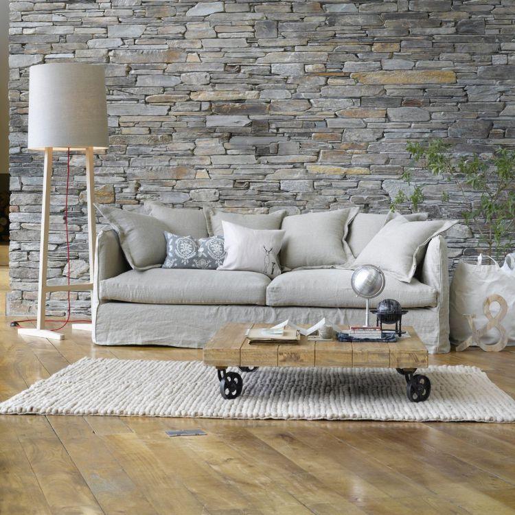 Tapeten Für Wohnzimmer Beispiele Herrlich On Auf Wählen 17 Ideen Moderne Wandgestaltung 9
