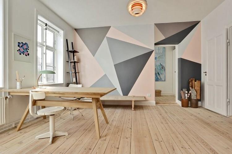 Wand Muster Ideen Bemerkenswert On Für Streichen Und 65 Einen Neuen Look 7