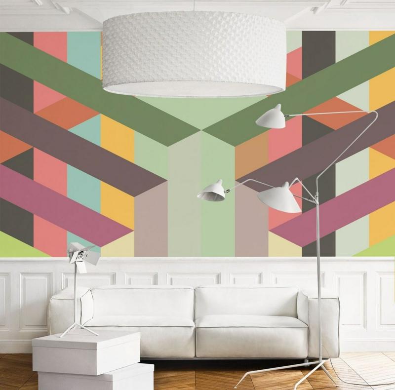 Wand Muster Ideen