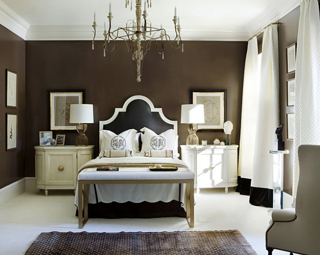 Wandfarbe Im Schlafzimmer Fein On Innerhalb Wandfarben 105 Ideen Für Erholsame Nächte 8