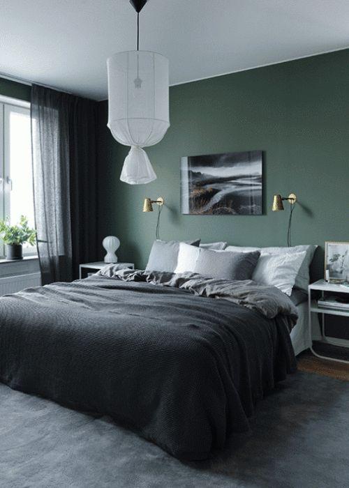 Wandfarbe Im Schlafzimmer Perfekt On Innerhalb Die Besten 25 Ideen Auf Pinterest 3