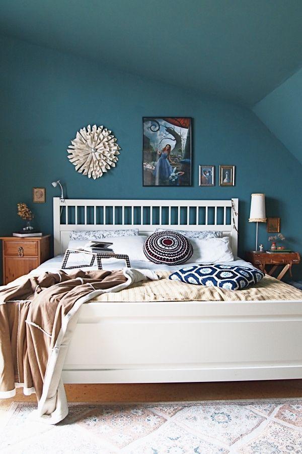Wandfarbe Im Schlafzimmer Schön On Beabsichtigt Die Besten 25 Petrol Ideen Auf Pinterest 9