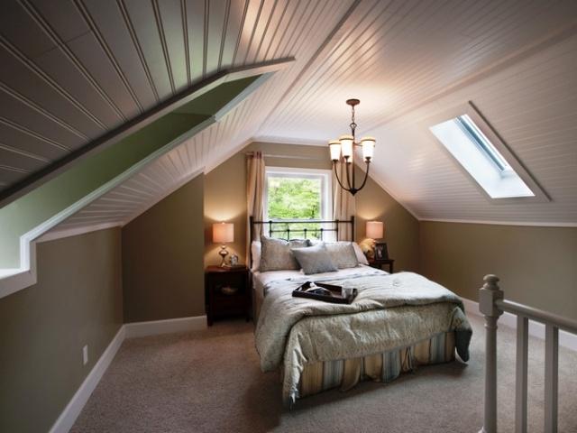 Wandfarben Ideen Schlafzimmer Dachgeschoss Nett On Für Wohndesign 1
