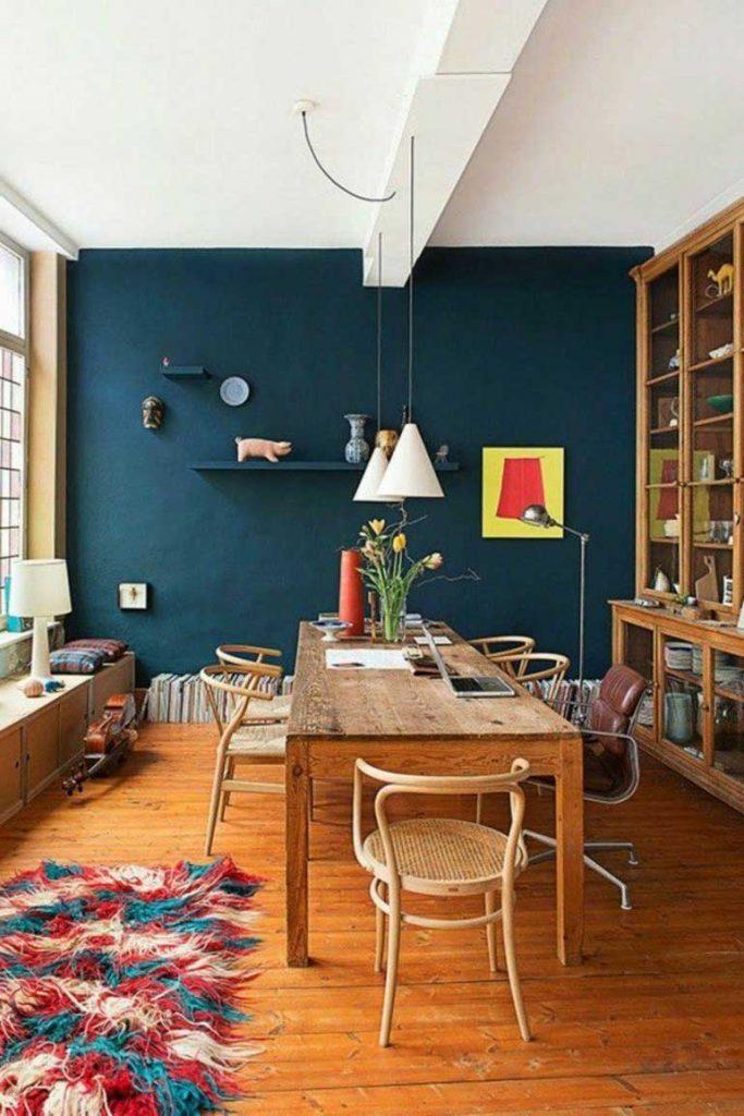 Wandfarben Vorschläge Wunderbar On Andere In Effektvolle Esszimmer Blau 4
