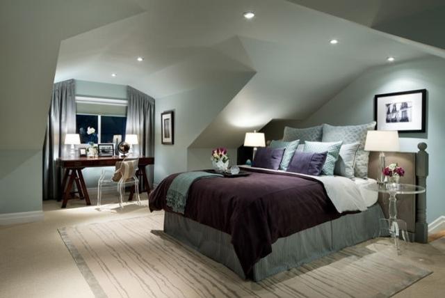 Wandgestaltung Dachschräge Glänzend On Andere In Schlafzimmer Ideen Amocasio Com 8