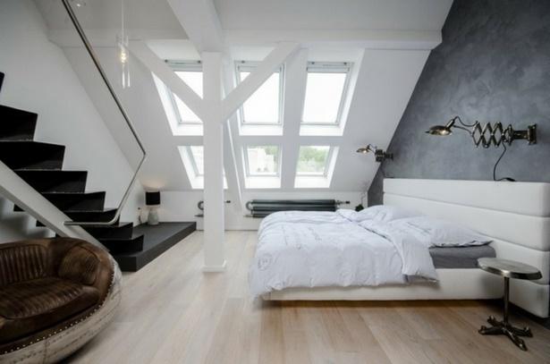 Wandgestaltung Dachschräge Imposing On Andere Auf Schlafzimmer Ocaccept Com 4