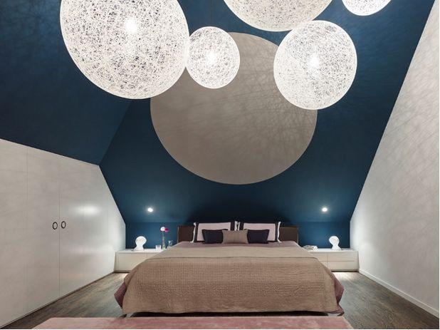 Wandgestaltung Dachschräge Stilvoll On Andere Beabsichtigt Gestalten 11 Kreative Deko Ideen 6