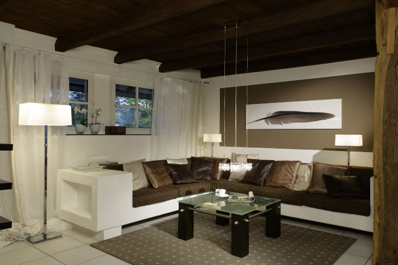 Wandgestaltung Mit Brauntönen Zeitgenössisch On Braun Beabsichtigt Weiß Umleiten Wand Designs Auch 9