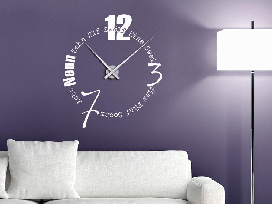 Wanduhr Design Wohnzimmer Einfach On Mit Wohndesign Attraktiv Modern Ideen Imposing Uhr 9