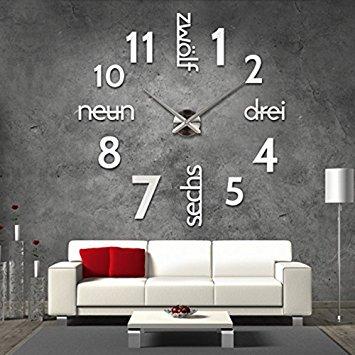 Wanduhr Design Wohnzimmer