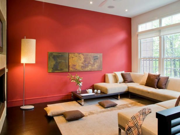 Warme Wandfarben Wohnzimmer Einfach On Für Amocasio Com 1