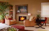Warme Wandfarben Wohnzimmer
