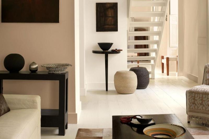 Warme Wandfarben Wohnzimmer Unglaublich On Für Farbe In Der Wohnung 25 Ideen Mit Warmen 4