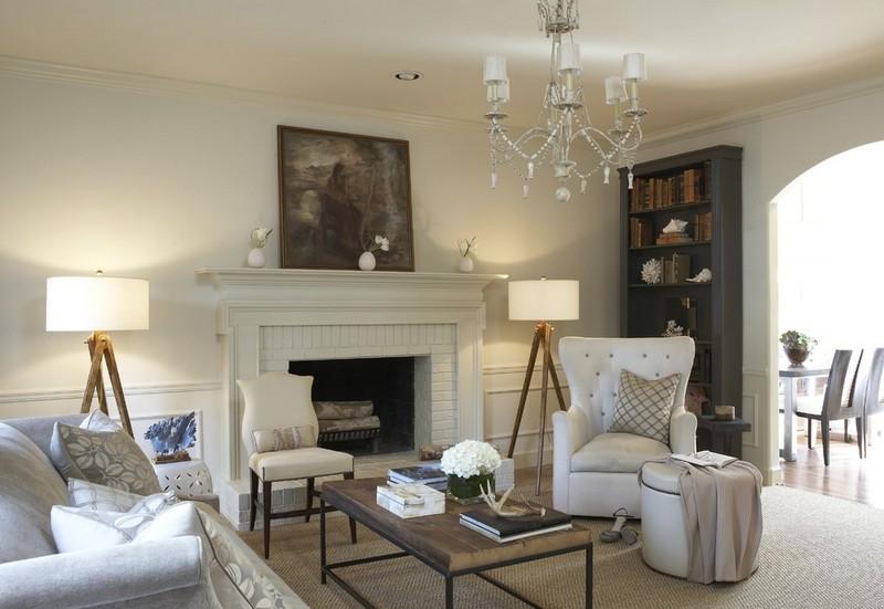Weiß Braun Wohnzimmer Unglaublich On Mit In Und Beige Einrichten 55 Wohnideen 4