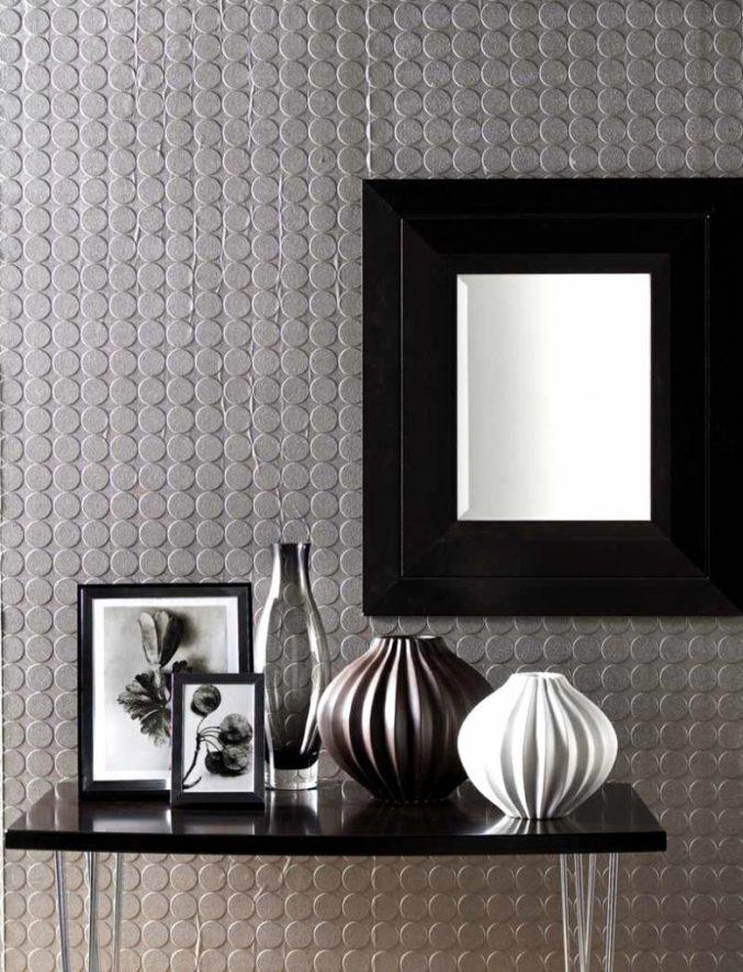 Wie Gestaltet Man Eine Wand Mit Mustertapete Modern On Andere Beabsichtigt 4