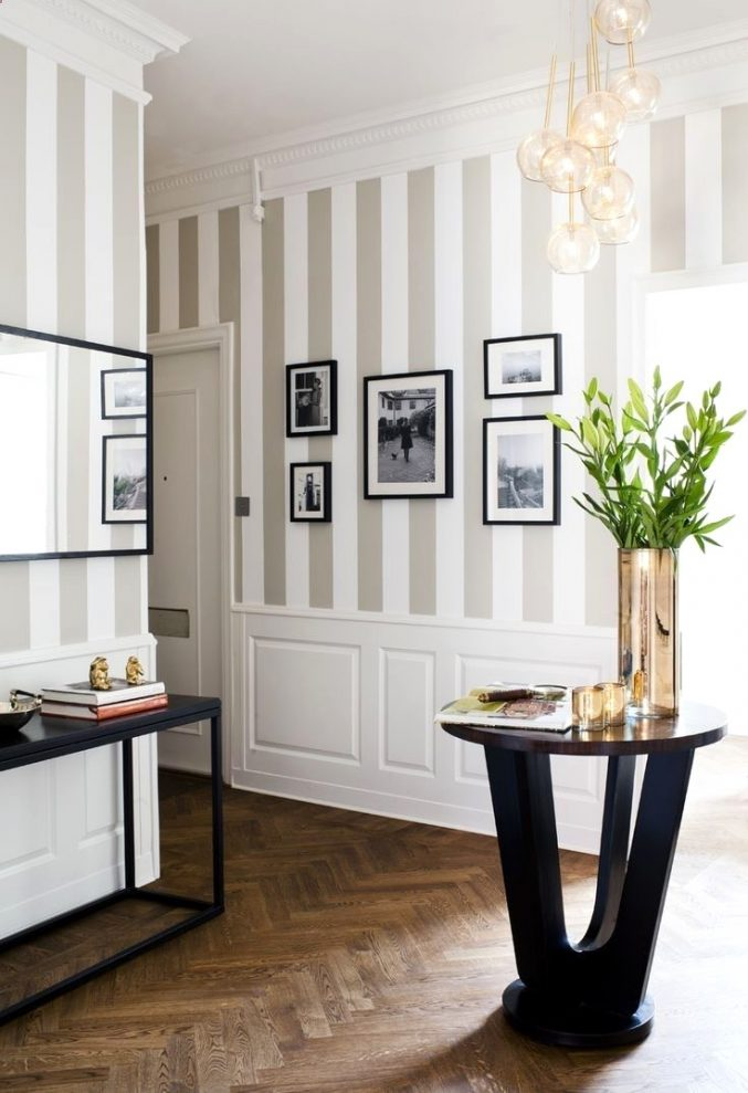 Wie Gestaltet Man Eine Wand Mit Mustertapete Modern On Andere Und Uncategorized Schönes 2