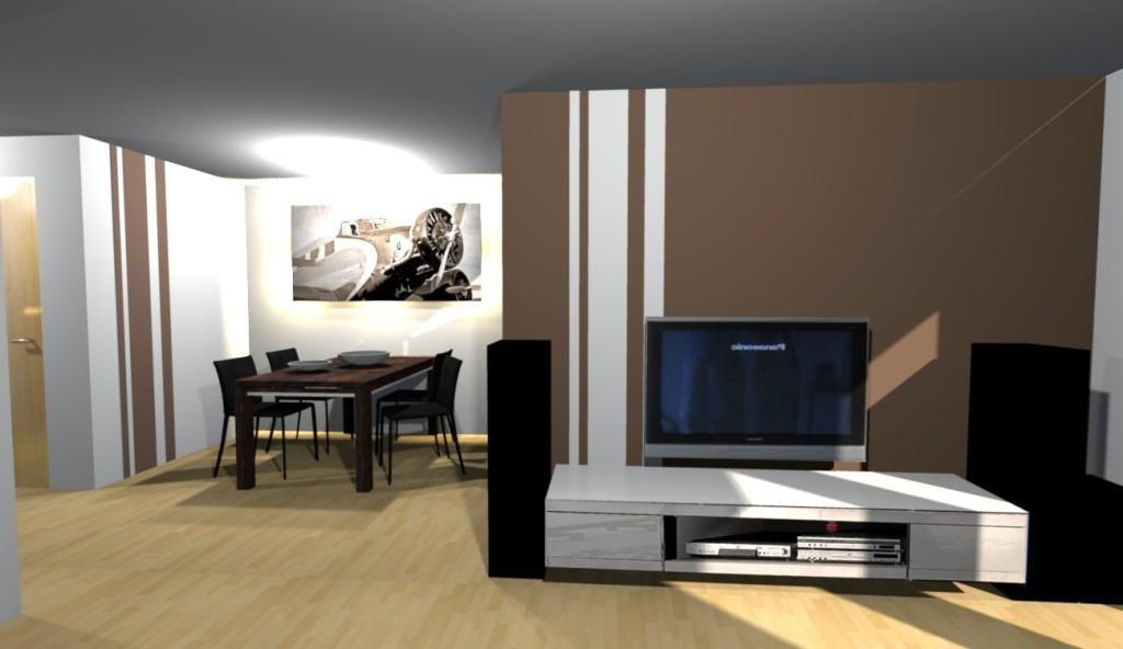 Wohbzimmer Wandgestaltungs Ideen Gestrichen