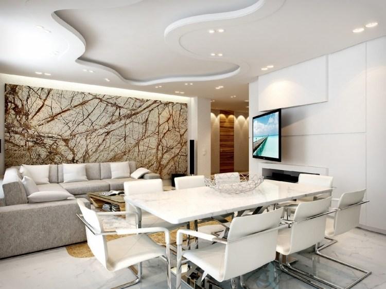 Wohbzimmer Wandgestaltungs Ideen Gestrichen Kreativ On Auf Wohnzimmer 5