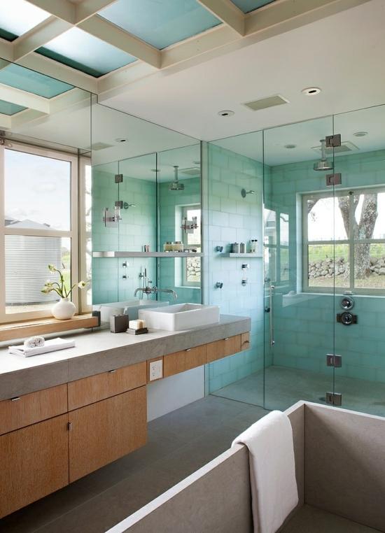 Wohnideen Badezimmer Einfach On Innerhalb 105 Für Einrichtung Stile Farben Deko 3