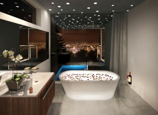 Wohnideen Badezimmer Modern On Beabsichtigt 105 Für Einrichtung Stile Farben Deko 8