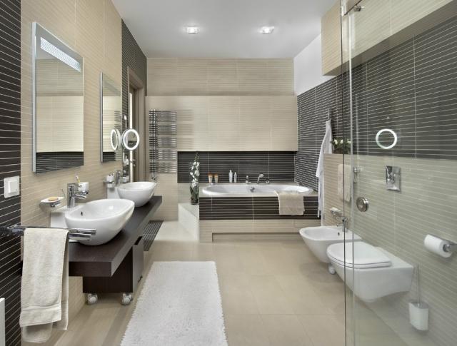 Wohnideen Badezimmer Modern On In Bezug Auf 30 Für Bad Ohne Fenster Einrichten 6