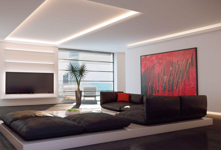 Wohnideen Led Frisch On Ideen Und Wandgestaltung Maler Lichteffekte Im Wohnzimmer 1