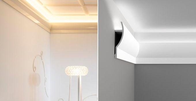 Wohnideen Led Großartig On Ideen Mit Malerische Stuckleisten Lichtleisten Wandgestaltung 9