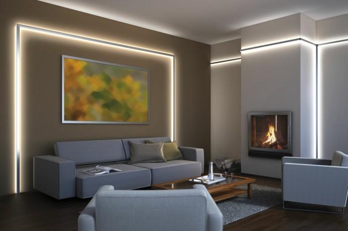 Wohnideen Led Imposing On Ideen Beabsichtigt Die LED Lichtleiste 30 Wie Sie Durch Leisten 5