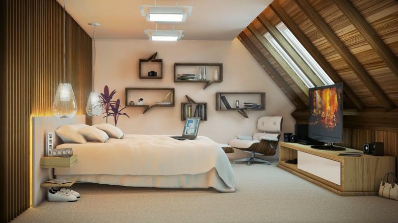 Wohnideen Schlafzimmer Zeitgenössisch On Mit Für Kleine Räume 25 Wohn 5