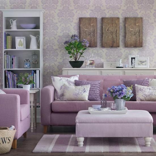 Wohnideen Wohnzimmer Lila Interessant On Ideen Beabsichtigt 125 Für Und Design Beispiele 8