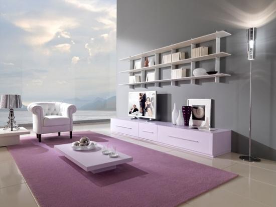 Wohnideen Wohnzimmer Lila Unglaublich On Ideen Auf 125 Für Und Design Beispiele 3