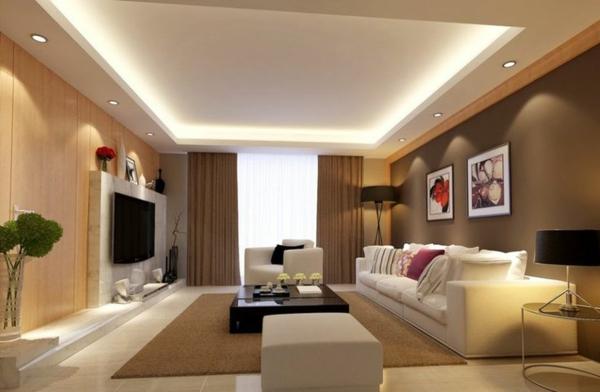 Wohnzimmer Beleuchtung Ideen Einfach On In Bezug Auf Versteckte Einbauleuchten 3