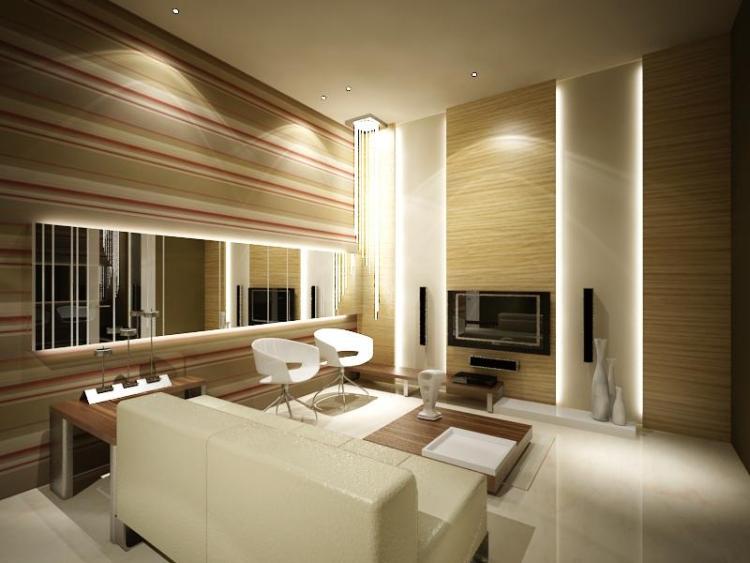 Wohnzimmer Beleuchtung Ideen Nett On In Bezug Auf LED Im 30 Zur Planung 4