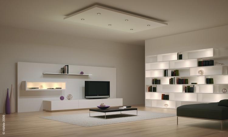 Wohnzimmer Beleuchtung Ideen Schön On In LED Im 30 Zur Planung 1
