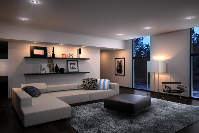 Wohnzimmer Bild Modern Unglaublich On In Szene Ideen Einrichten 4 Amocasio Com 1