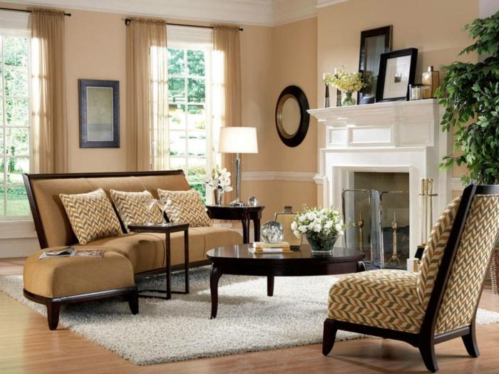Wohnzimmer Braun Streichen Ideen Glänzend On Innerhalb 1001 Die Besten Nuancen Auswählen 6