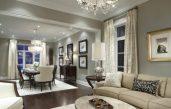 Wohnzimmer Esszimmer Grau Beige