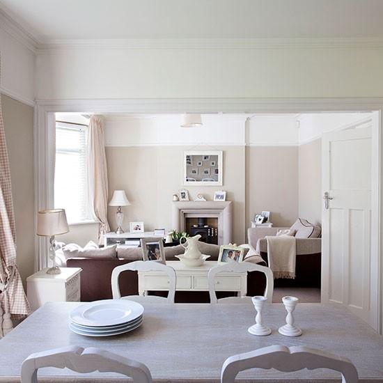 Wohnzimmer Esszimmer Grau Beige Glänzend On Und Cabiralan Com 4