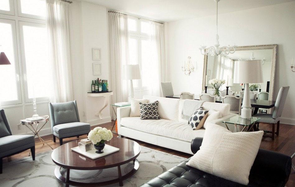 Wohnzimmer Esszimmer Grau Beige Zeitgenössisch On überall Amocasio Com 1
