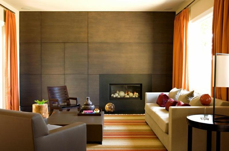 Wohnzimmer Gemütlich Streichen Braun Charmant On Auf Einnehmend Auch 1