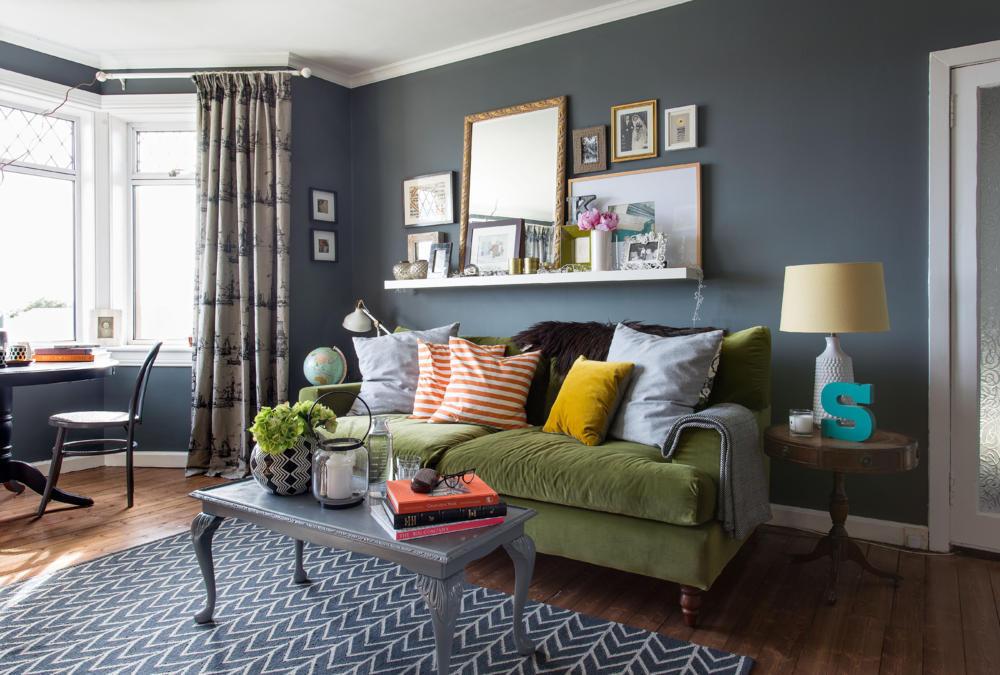 Wohnzimmer Gemütlich Streichen Braun Einfach On Beabsichtigt Cloiste Veranda Auf 6